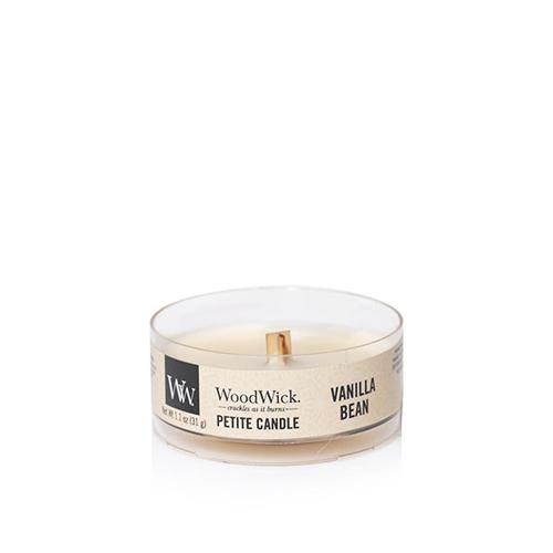 Woodwick Vanilla Bean vela petit
