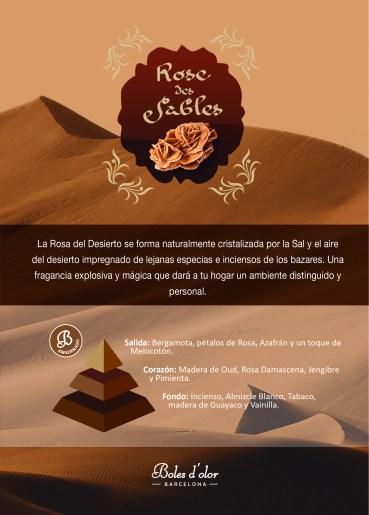 ROSE DES SABLES Piramide Ambients