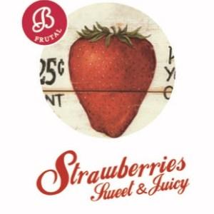 Mini resina Strawberries