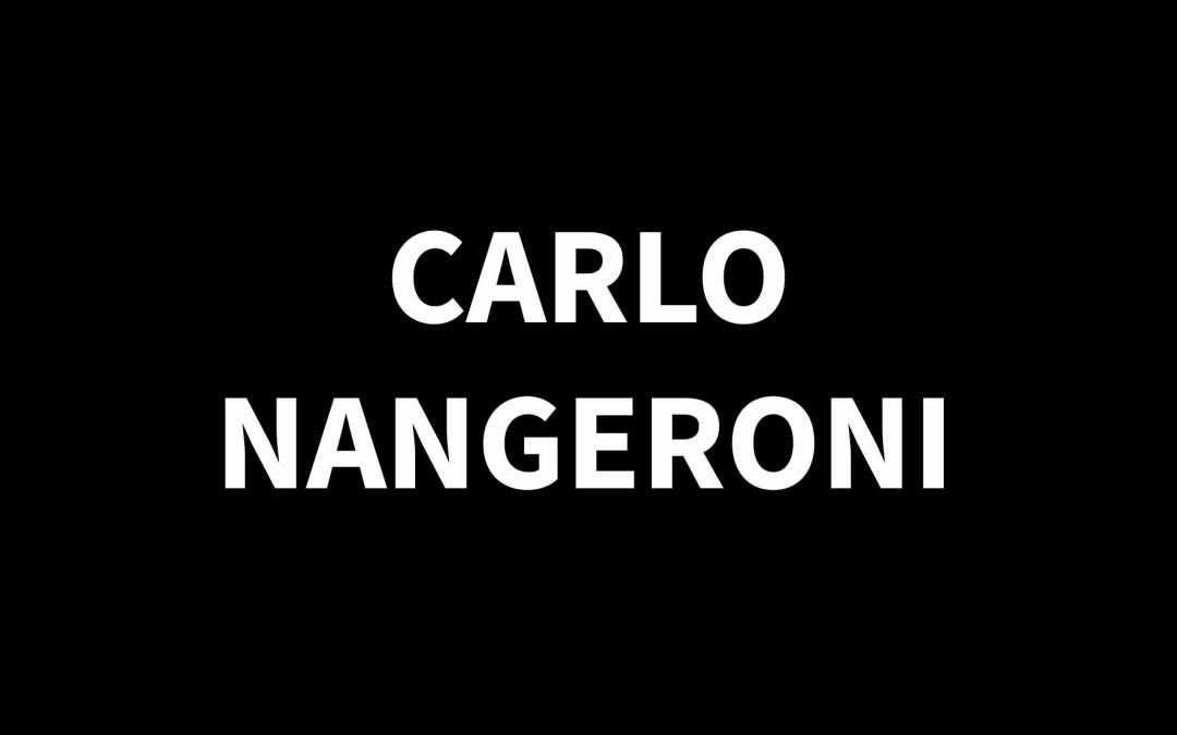 CARLO NANGERONI1922 – 2018