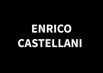 ENRICO CASTELLANI1930 – 2017