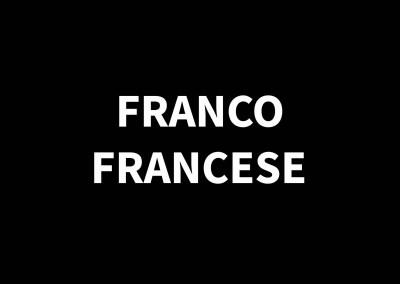 FRANCO FRANCESE1920 – 1996