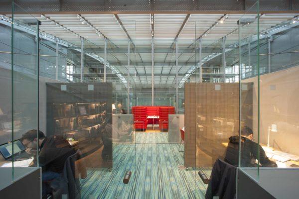 Mezzanine espace carrel
