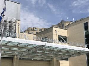 Photo of the  Main entrance of Hôpital Maisonneuve-Rosemont