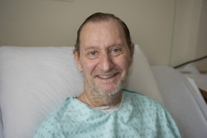Picture of François Quenot who François stayed almost three months at Maisonneuve-Rosemont Hospital.
