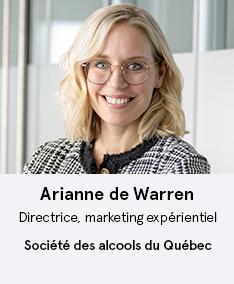 Ariane de Warren - SAQ - Membre CO À Votre Santé!