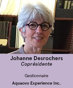 Johanne Desrochers - coprésdiente AVS