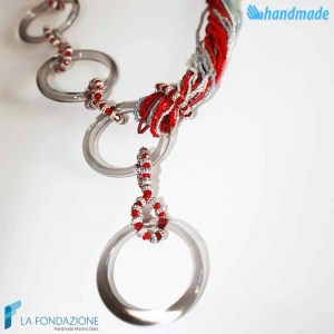 Collana Boop Magic in vetro di Murano - COLL0043
