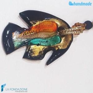 Collana Fish Perle in vetro di Murano - COLL0087