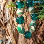 Collana Marmorata in vetro di Murano – COLL0089