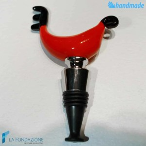 Tappo da bottiglia Gondola in vetro di Murano - CAPS0003