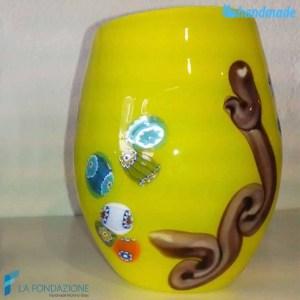 Goto Moderno Giallo in vetro di Murano - GOTI0044