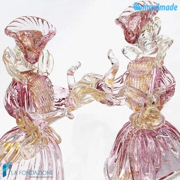Duca e Duchessa Veneziani in vetro di Murano - SCUL003
