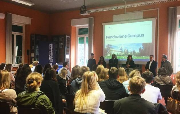 Delegazione di studenti russi in visita al Campus