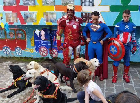 super eroi e cani