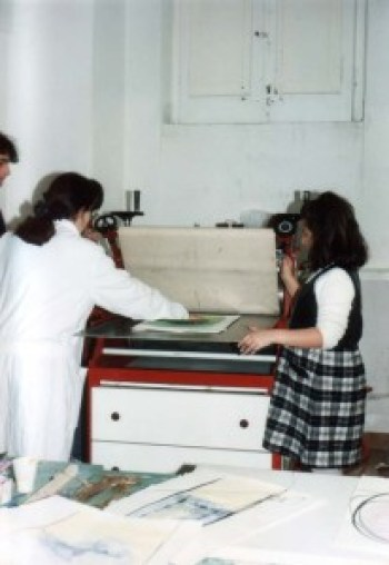 Esercitazioni di calcografia