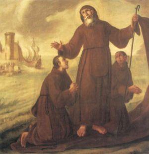 Juan De Espinal, Passaggio dello Stretto di Messina