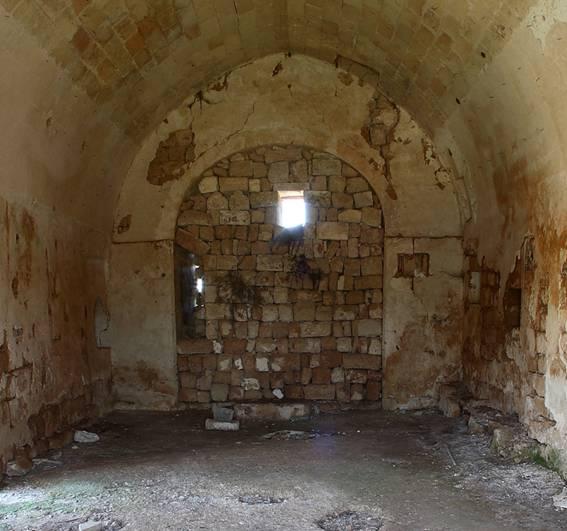 4 dicembre. Santa Barbara. La chiesa di Santa Barbara nel territorio di Montesardo (Lecce)