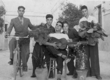 Giovani marittimesi negli anni '70