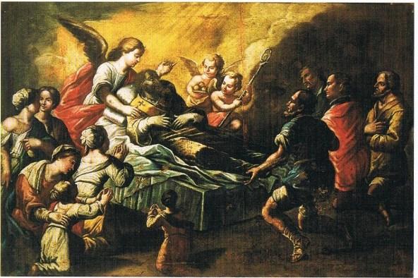 2)Morte di San Nicola