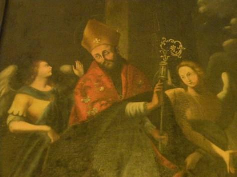 FIG.4. Galatina. Chiesa SS.Annunziata (S.Luigi). S. Oronzo