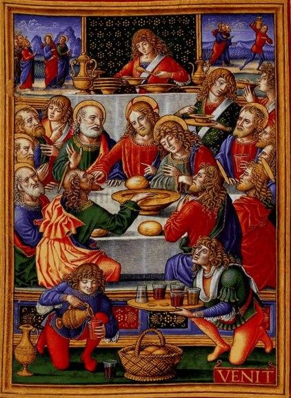 ultima cena 1490