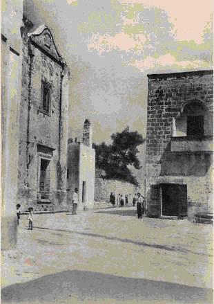 Melissano, Piazza del Mercato Vecchio. (foto Velotti)