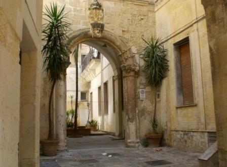 Lecce. Palazzo De Raho