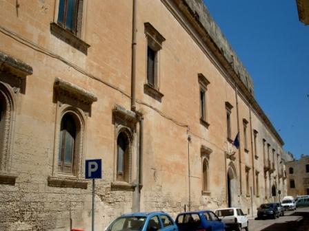 Il monumentale palazzo Giaconìa in Lecce