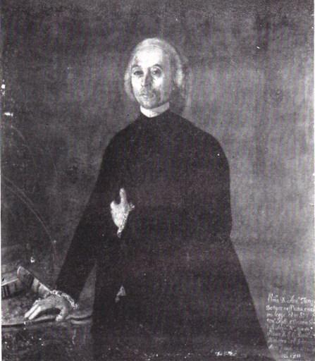 Il galatinese Antonio Tanza,  Vicario di Mons. Capecelatro a Taranto (da Nicola Vacca)