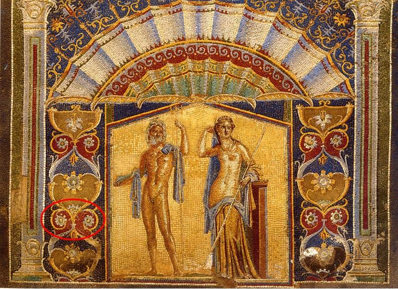immagine tratta da http://commons.wikimedia.org/wiki/File:Herculaneum_-_Casa_di_Nettuno_ed_Anfitrite_-_Mosaic.jpg