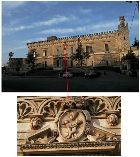 Quella seconda mensola del balcone del castello di Nardò … (3/6)