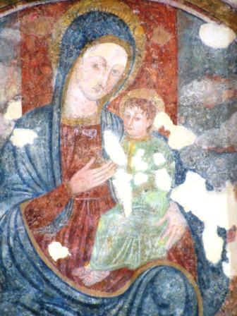 L'affresco di Mater Gratiae