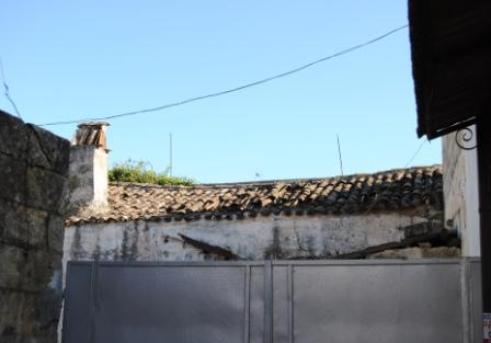 Taurisano, vico Risorgimento, Ruderi della chiesa di san Nicola di Mira, particolare copertura