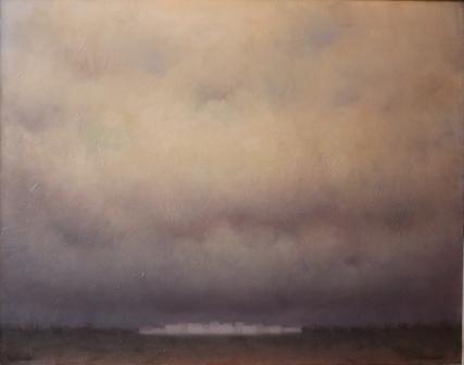 Frazione 1 ( olio su tela ) cm. 120 x 95