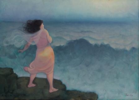 Il Mare di Addolorata lagoffa. cm. 150 x 100