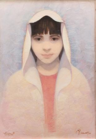 Maria (olio su tela ) cm. 55 x 45