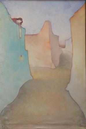 Vigilia 1 (olio su tela) cm. 130 x 85