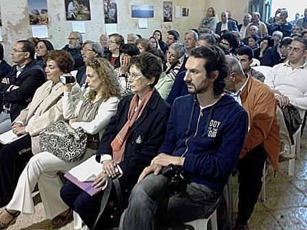 Omaggio a Giorgio Cretì, il pubblico fra cui i famigliari