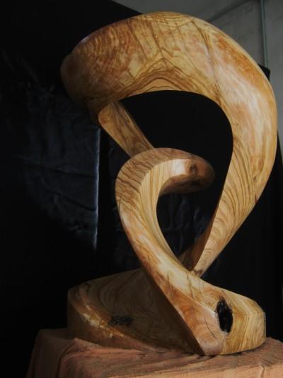 CAOS ORGANICO legno di ulivo