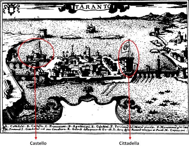 I castelli di Terra d'Otranto tra il 1584 e il 1610 in una relazione manoscritta del 1611: TARANTO  (1/6)