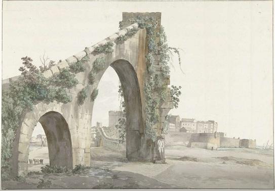 Il Salento in ventiquattro immagini di Abraham Louis Rodolphe Ducros (6/6): TARANTO