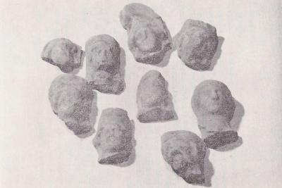Agliano, frammenti-coroplastici, foto G. Pichierri