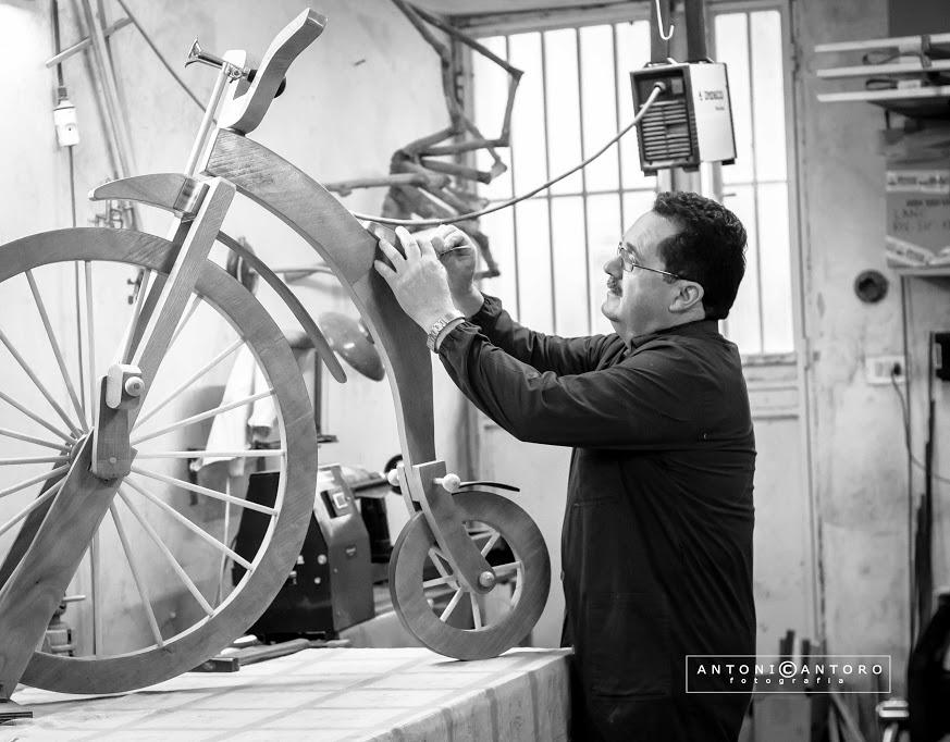 Cosimo Morieri: ferro e legno… che passione