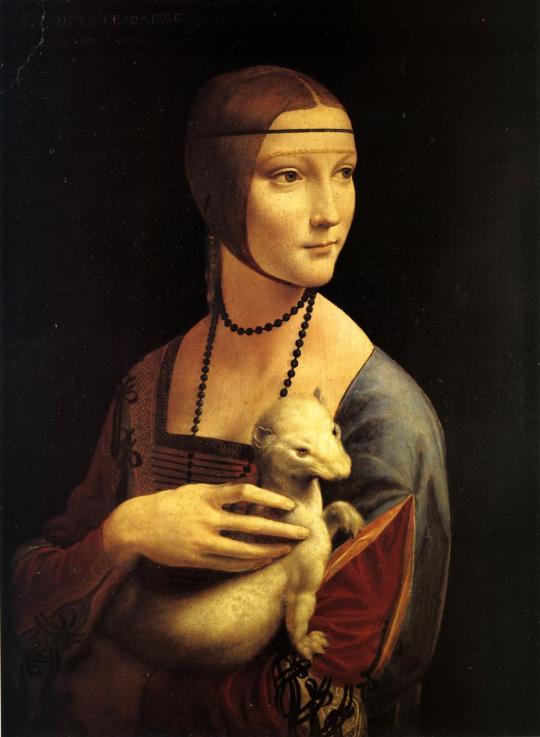 Leonardo-da-Vinci-Dama-con-lermellino-Cracovia-Czartoryski-Museum-©-bpk-Scala