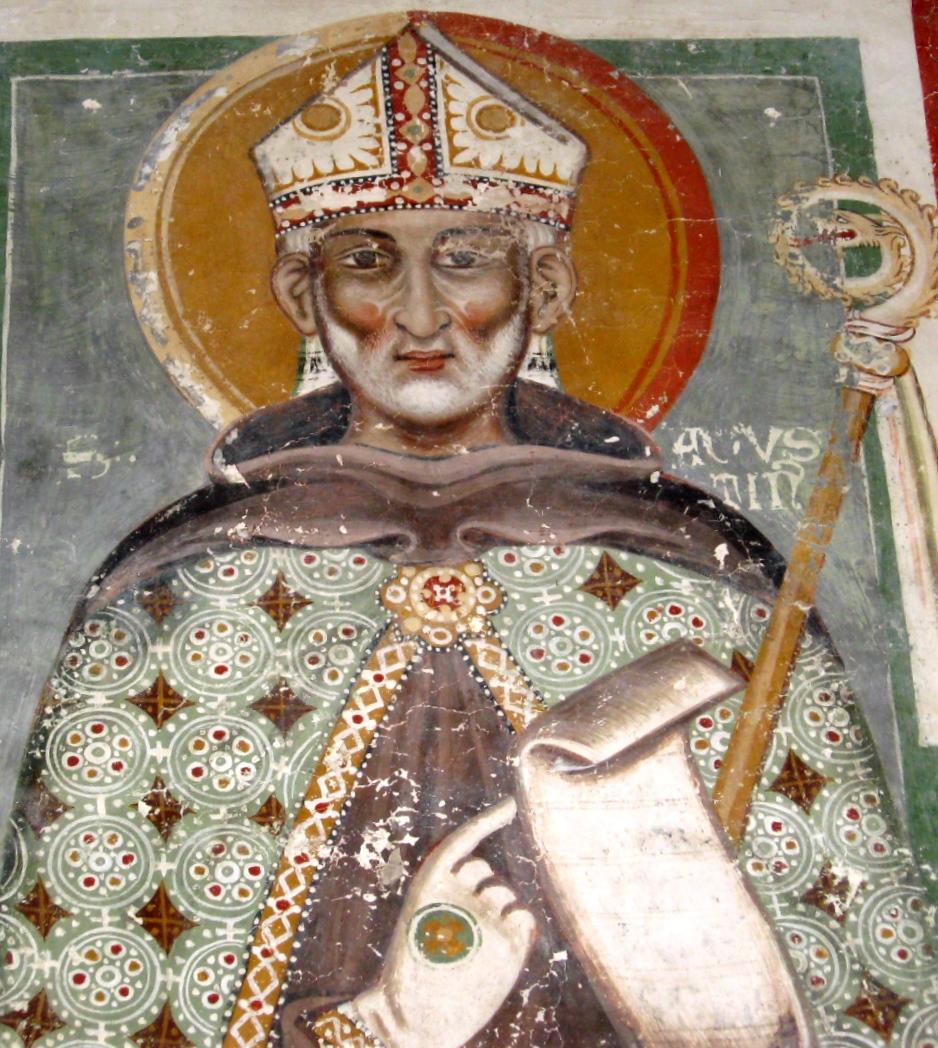 L'affresco di Sant'Agostino nella cattedrale di Nardò