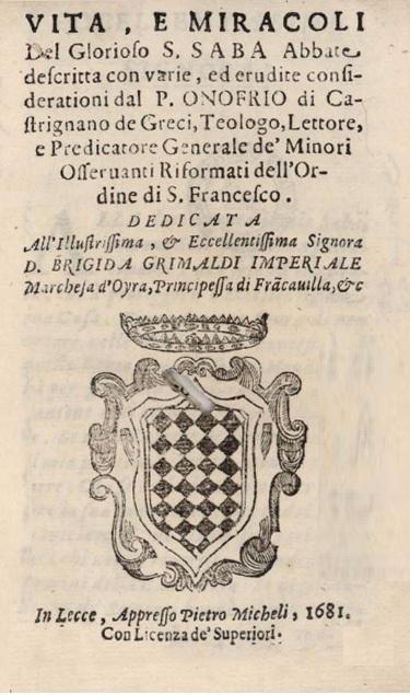 Castrignano dei Greci, Oria, Francavilla e il Principato di Monaco (1/2)