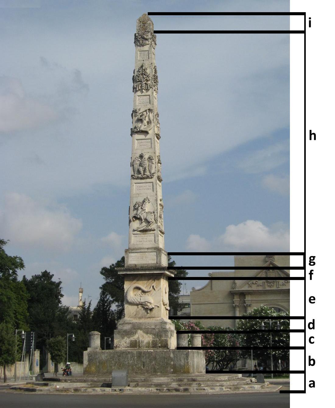 L'obelisco di Porta Napoli a Lecce (1/5)