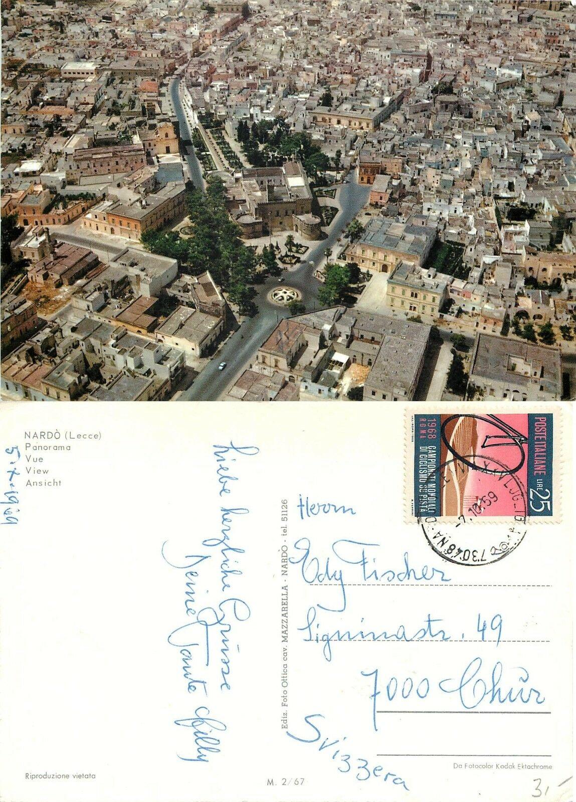 Nardò nelle cartoline di Antonio Mazzarella, il Cavaliere