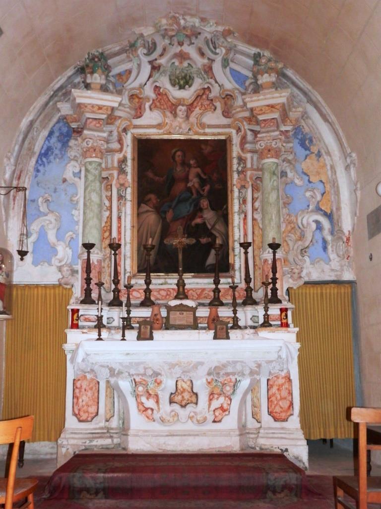 Spigolature sulla chiesa Madre di Spongano